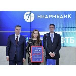 Проект компании «Ниармедик» получил премию «Приоритет»
