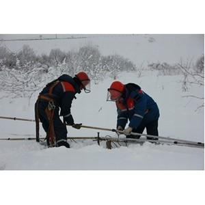 Рязанские энергетики переведены в режим повышенной готовности в связи с ухудшением погодных условий
