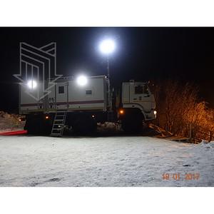 Аварийно-спасательная машина на шасси колесного вездехода МПЗ обеспечивает безопасность граждан