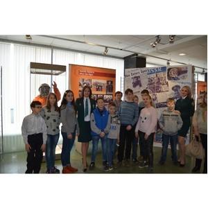 Калужские таможенники познакомили детей с историей космонавтики