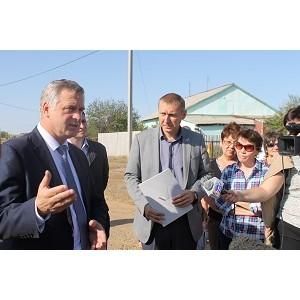 Оренбургский ОНФ призвал власти решить проблему с оползневым обрывом в п. Экспериментальный
