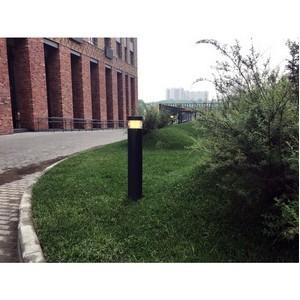 Группа ПСН выполнила установку ландшафтного освещения в первой очереди проекта «Домашний»