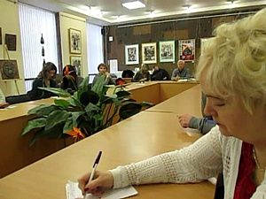 Александр Триандафилиди приобщает читателей ДГПБ к мировой поэзии
