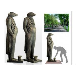 В Петербурге открывается выставка памятников взятке — «Борзой щенок»