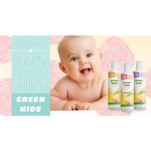 Запуск новой детской гипоаллергенной линейки Joli Green Kids от API Lab