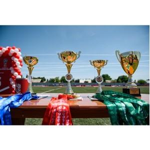 В Краснодарском крае проводится турнир по футболу на Кубок Губернатора.