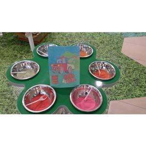 «М5 Молл» поможет детям развить творческие навыки и воображение с помощью необычного рисования