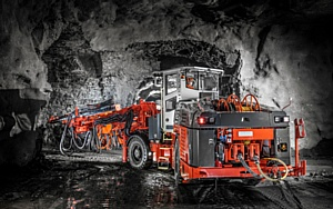 Sandvik Construction представила новую буровую тоннелепроходческую установку DT922i