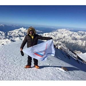 Челябинские активисты ОНФ отметили День молодежи, покорив самую высокую вершину Европы