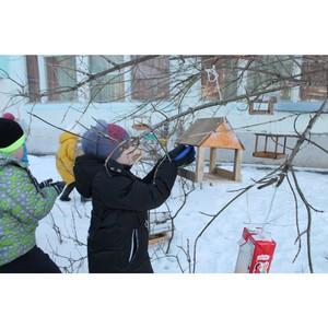 јктивисты ќЌ' в ћордовии провели акцию Ђѕокорми птицї