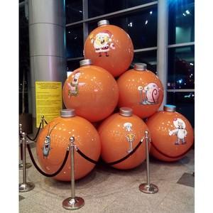 Компания «Гулливер и Ко» приняла участие в новогодней акции Nickelodeon в Домодедово