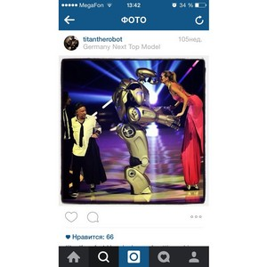 Робот Титан возвращается в Москву с легендарным Титан-шоу