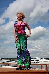 Круизная коллекция Нелли Агафоновой «Романтические каникулы»
