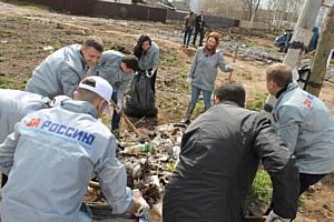 Активисты ОНФ ликвидировали пять несанкционированных свалок в Первомайском районе Кирова
