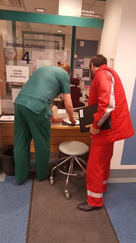 «Петербургская Неотложка» перевезла реанимационного пациента в Йювяскюля, Финляндия