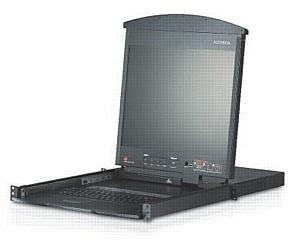 KVM Решение ATEN KL1516 для управления любой комбинацией ПК,компьютеров Mac,Sun.