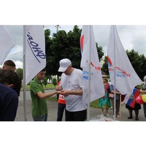 В День России Народный фронт в Кабардино-Балкарии организовал праздничную акцию