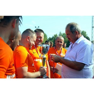 «Липецкцемент» провел открытое первенство по мини-футболу среди команд Холдинга «Евроцемент груп»