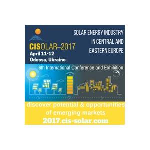 Cisolar-2017 станет новым этапом развития новых рынков солнечной энергетики в Европе