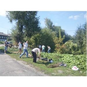 Активисты ОНФ очистили территорию вокруг Мининского пруда в Балахне