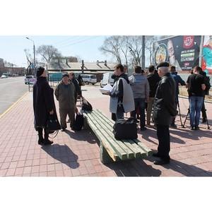ОНФ в Амурской области провел мониторинг состояния общественного транспорта и автобусных остановок
