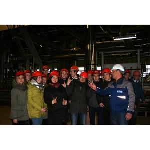 """Свыше 400 студентов-энергетиков с начала года посетили ТЭЦ """"Т Плюс"""" в Марий Эл и Чувашии"""