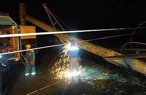Тамбовские энергетики оперативно ликвидировали аварийную ситуацию