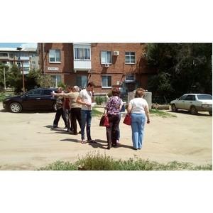 Волгоградские активисты ОНФ обсудили с жителями Краснооктябрьского района вопросы благоустройства