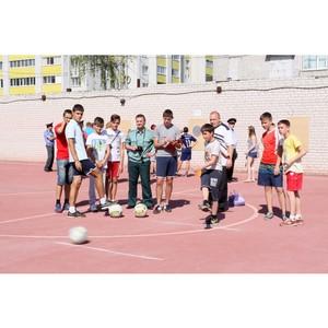 День физкультурника объединил ветеранов и совсем юных любителей спорта