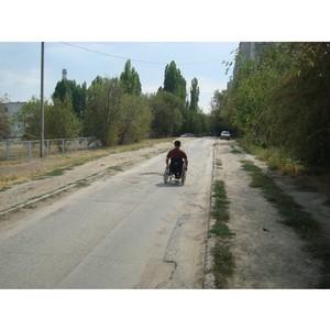 В Волгограде активисты ОНФ не нашли доступных маршрутов для людей с ограниченными возможностями