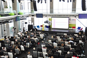 """16 мая 2013 года лекция от профессора Миронова В.А. на тему """"Технология трехмерной биопечати"""""""