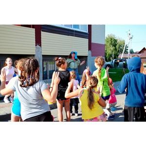Жители нового ЖК организовали детский праздник