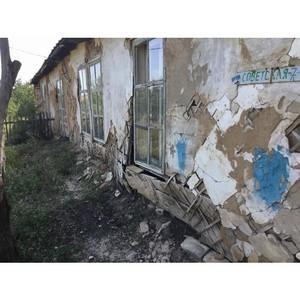 Активисты ОНФ в Волгоградской области провели мониторинг аварийных домов, оставшихся без управления