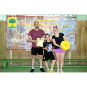 Представители «Липецкцемента» стали вторыми в соревнованиях семейных команд