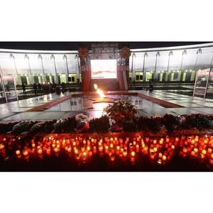 Зеленоградская полиция приняла участие в торжественных мероприятиях, посвященных Дню памяти и скорби