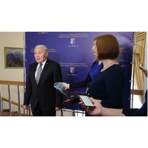 Объем бюджета Магаданской области в 2018 году будет увеличен по сравнению с 2017 - Владимир Печеный