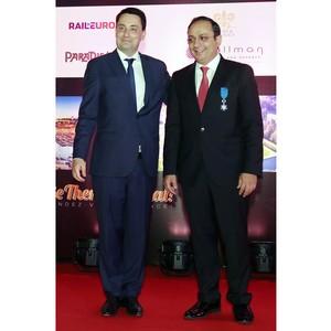 Президент Франции наградил Главу Холдинга Kuoni Group престижным Национальным орденом «За заслуги