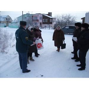 В Московской области проходят рейды по профилактике бытовых пожаров