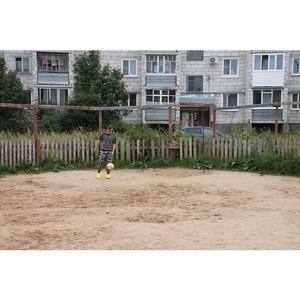 Команда «Молодежки ОНФ» в Коми добивается обустройства детской спортивной площадки в Сыктывкаре