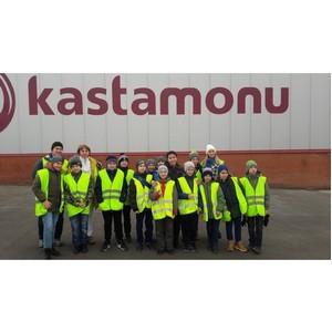 Завод Kastamonu посетили лицеисты