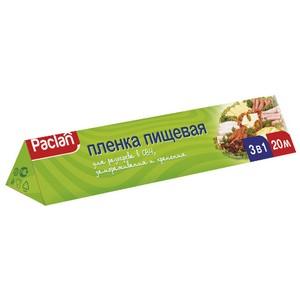 Умная плёнка: пищевая плёнка Paclan 3 в 1 облегчит разогрев, замораживание и хранение продуктов