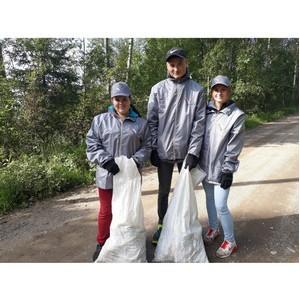 Вологодские активисты ОНФ поддержали экологическую акцию «Чистое Онего»
