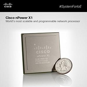 Сетевой SDN Супер процессор Cisco nPower X1 отвечает глобальным мировым трендам