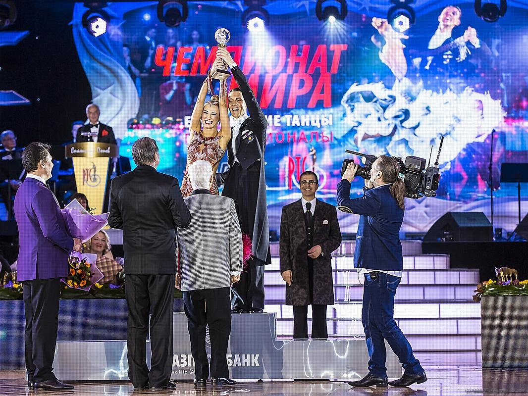 Триумфальные итоги чемпионата мира по европейским танцам среди профессионалов