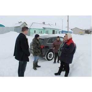 Воронежские активисты ОНФ помогают сельским жителям добиться содержания дороги в Семилукском районе