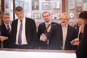 В КФУ обсудили возможное сотрудничество с представителями научных и деловых кругов Финляндии