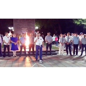 В День памяти и скорби активисты ОНФ участвовали в патриотической акции «Свеча памяти» в Махачкале