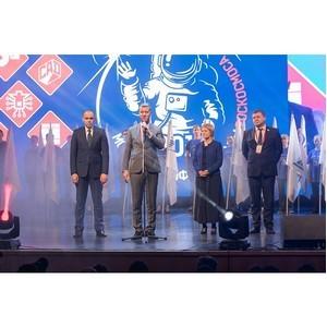 Победитель в компетенции «Электроника» на чемпионате Роскосмоса - работник НПО автоматики