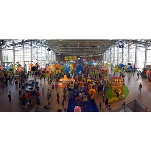 Компания «Бытпласт» приняла участие в фестивале детских развлечений «Мультимир»