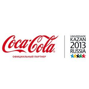 Coca-Cola Россия встретила Эстафету Огня Универсиады в Нижнем Новгороде